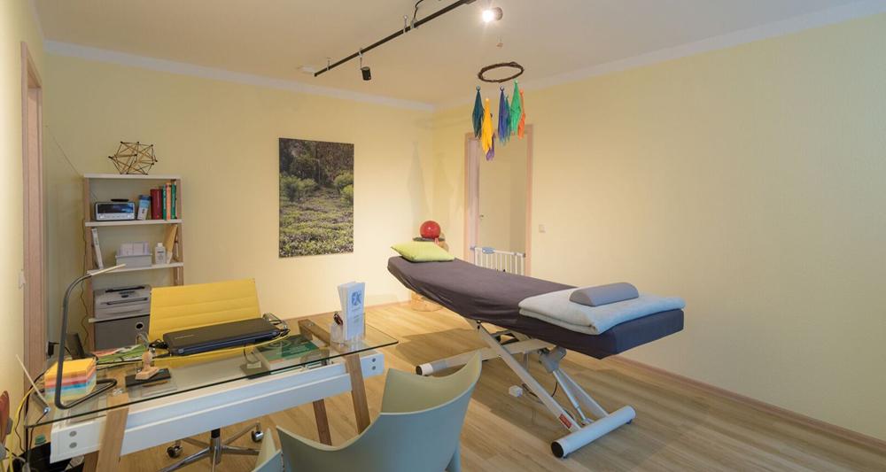 Behandlungsraum in Saarbrücken