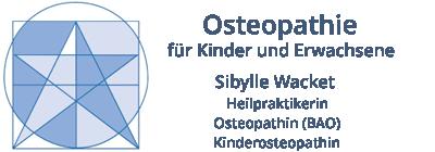 Osteopathie Sibylle Wacket Logo